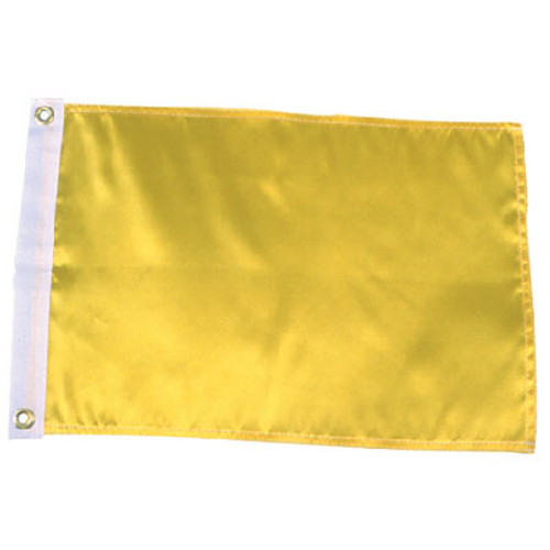 Seachoice Solid Yellow Flag 78261