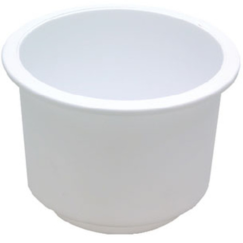 Seachoice Drink Holder White Lg Recessed 79490