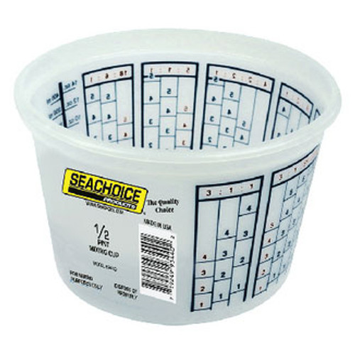 Seachoice Mixing Bucket 1/2 Pint 93440