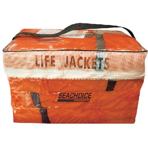 Seachoice Orange Adult Vest 4Pak W/Bag Epe1110Ak1Aupk40-85510