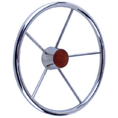 Seachoice SS Destroyer Steering Wheel 28551