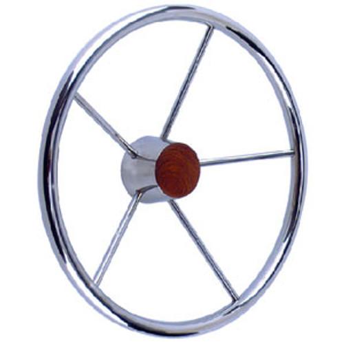 Seachoice SS Destroyer Steering Wheel 28551