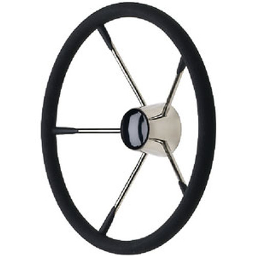 Seachoice SS Destroyer Steering Wheel W 28581