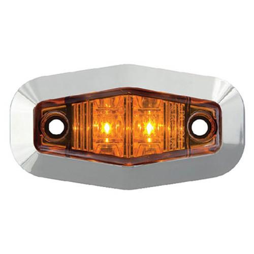 Seachoice Mini Sealed LED Marker Amber Mcl13Atrssch