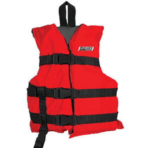 Seachoice Black/Red Child Vest Epe2111C-85430