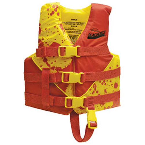 Seachoice Yellow/Red Deluxe Child Vest 2 86130