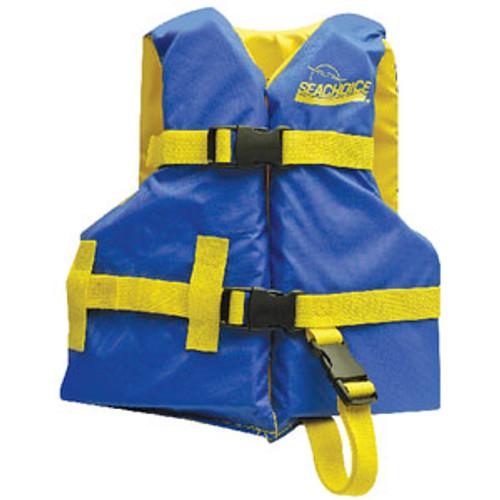 Seachoice Blue/Yellow Child Vest 20 -25 86140