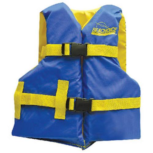 Seachoice Blue/Yellow Youth Vest 25-29 86180