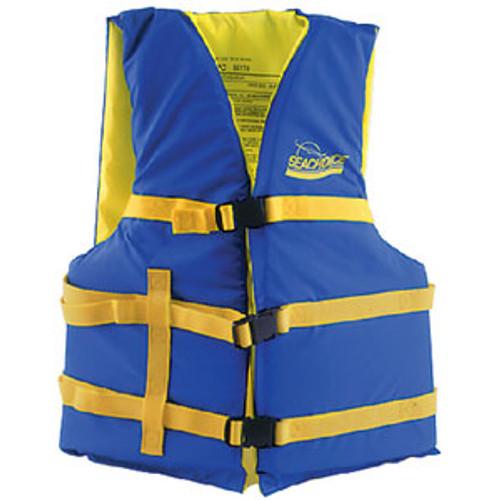 Seachoice Blue/Yell XL Adult Vest 40-60 86240