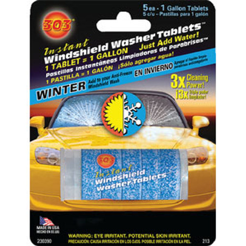 303 Products Windshield Washer Tablets 5/Pk 230390