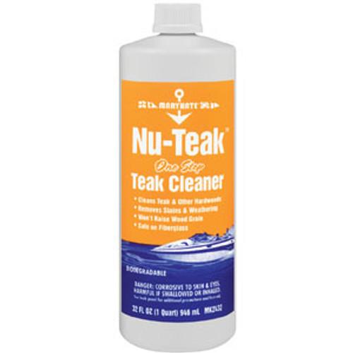 Marikate Nu Teak 1 Step Teak Cleaner Quart Mk2432