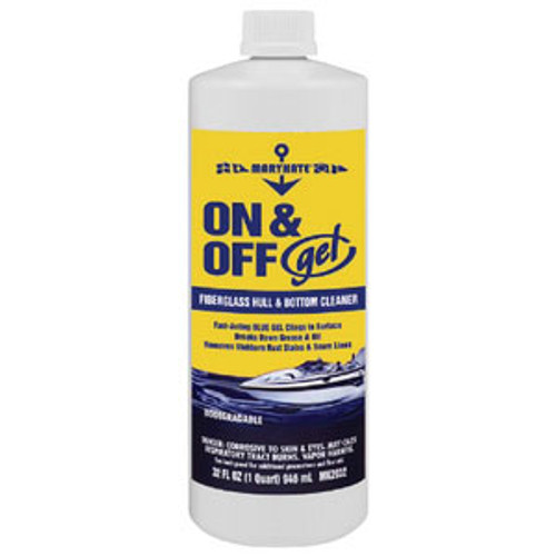 Marikate On/Off Gel Hull & Bottom Cleaner-Quart Mk3532