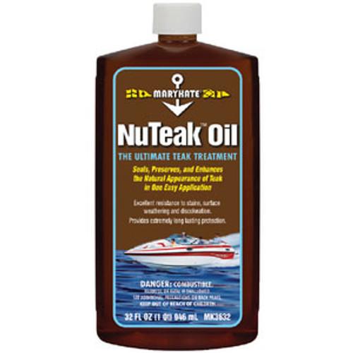 Marikate Nu Teak Teak Oil - Quart Mk3632