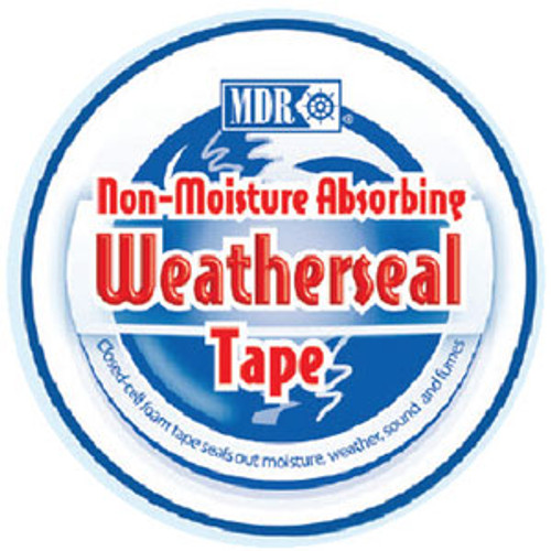 """MDR Weatherseal Tape 3/8"""" x 10' MDR370"""