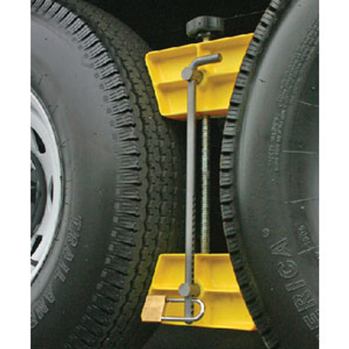 Camco Wheel Stop with Lock 44642