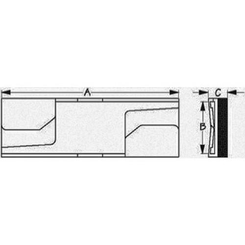Sea-Dog Line Strapguard(Chok-A-Block)1-1/4 756012-1