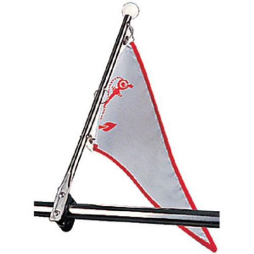 Sea-Dog Line Flag Pole With Rail Mount 327120-1