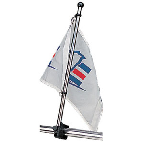 "Sea-Dog Line Flagpole 17"" Stainless 327122-1"