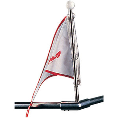 Sea-Dog Line Pole Flag SS Bow Form 328110-1