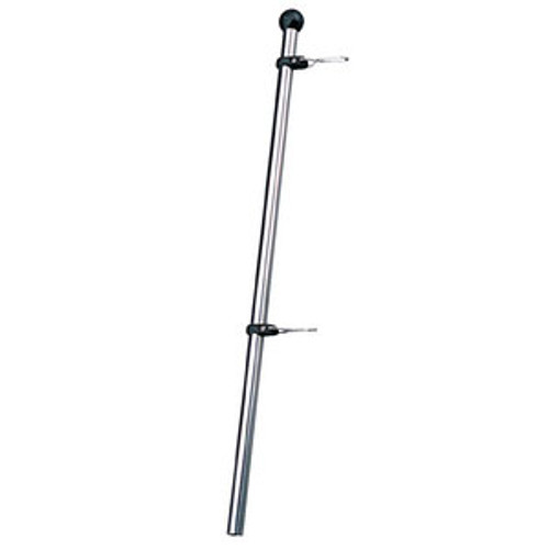 Sea-Dog Line Flag Staff with Adjustable Clips 328112-1