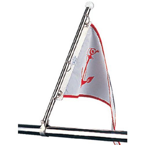 FLAG POLE WITH RAIL MOUNT Sea-Dog 354-3271201