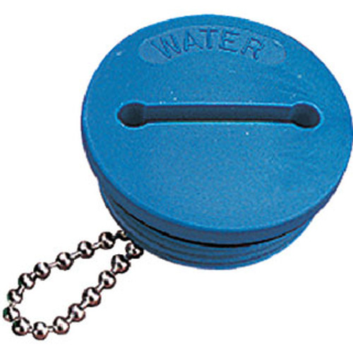 Sea-Dog Line Deck Fill Cap-Blue (Water) 357017-1