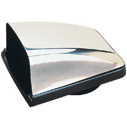 Sea-Dog Line SS Cowl Vent with Bl Plast Base 331320-1