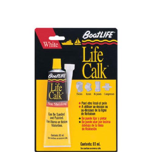 Boat Life Life Calk 1oz Tube White 1305