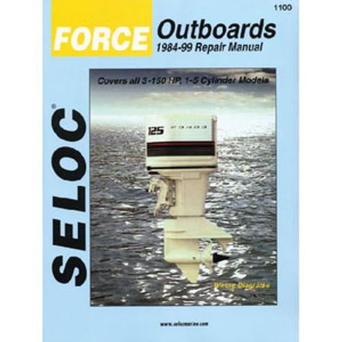 Seloc Publishing Manual Force 84-99 3-150hp 1-5Cyl 1100