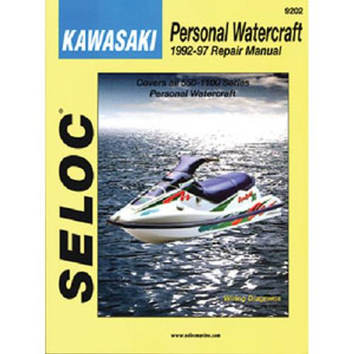 Seloc Publishing Manual Kawasaki PWC 92-97 9202