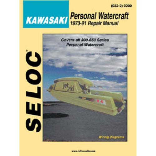 Seloc Publishing Manual Yamaha PWC650-1200Series92-97 9602