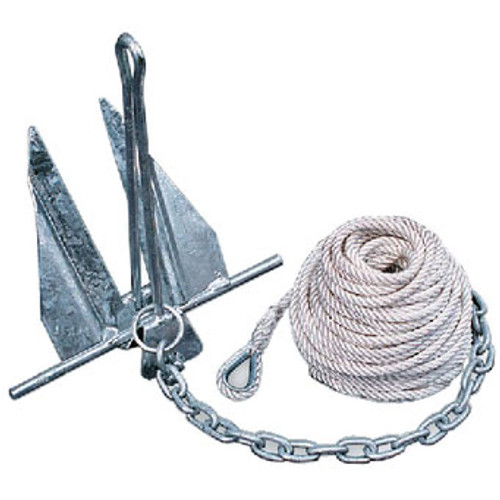 Tiedown Engineering Anchor Kit 10Hq Quick Set Kit 95090