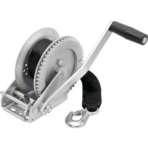 Fulton Products Winch 1500Lb with Strap 142203