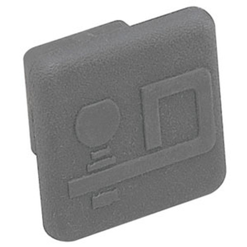 Fulton Products Frame Hitch Tube Cover Black 2211