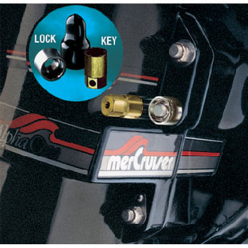 McGard Locks Stern Drive Lock Single 7/16 74018