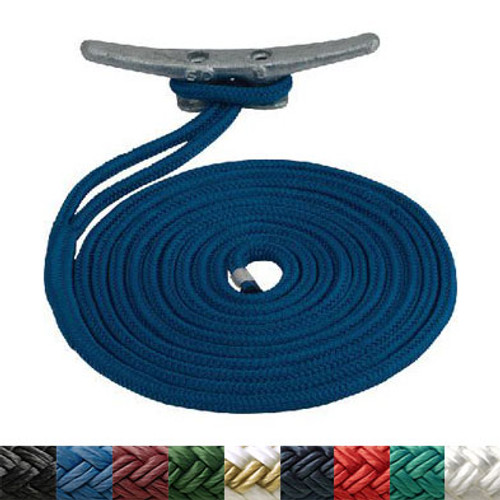 Sea-Dog Premium Double Braided Nylon Dock Line
