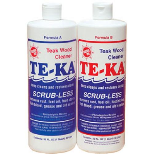 Marinetex Te-Ka Teak Cleaner Quart Kit Rm340K