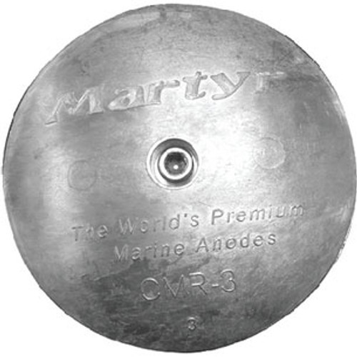 "Martyr Anodes Rudder Anode Set 3 3/4"" Dia. Cmr03S"