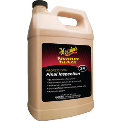 Meguiars Final Inspection Cleaner Gallon M3401