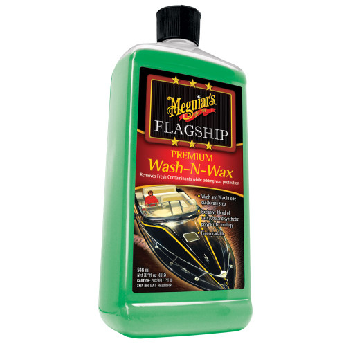 Meguiars Flagship Prem Wash-N-Wax 32oz M-4232