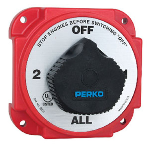 Perko Heavy Duty Battery Switch 8603Dp
