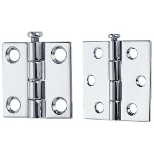 3-1//4 Perko 0574DP2CHR Door Stop /& Holder