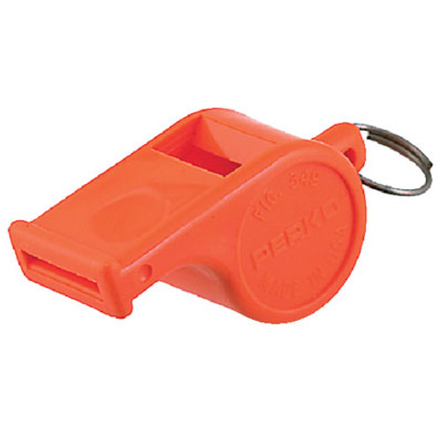 Perko Whistle -Orange Plastic 0349Dp