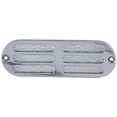 Perko 6 x 2 Ventilator C/P Zinc 1271Dp0Chr