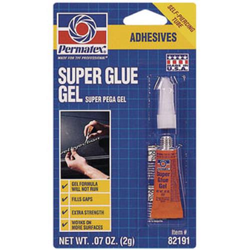 Permatex P 2 Gram Super Glue Gel 82191