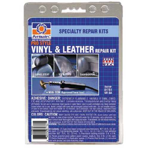 Permatex Pro Vinyl & Leather Repair Kit 81781