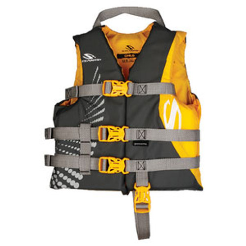 Stearns PFD Child Anti-Microbial Gold 2000029255
