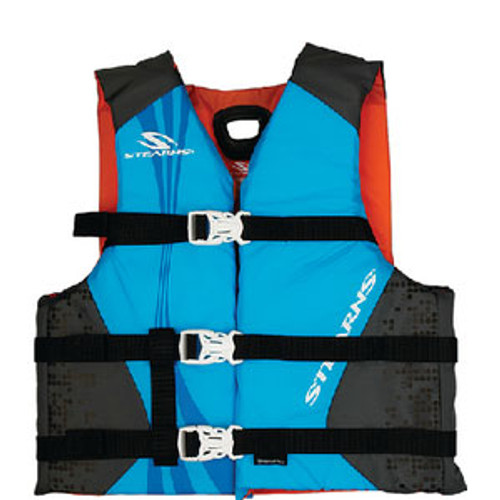 Stearns PFD Youth Anti-Microbial Blue 2000029258