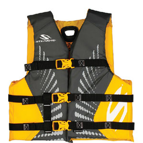 Stearns PFD Youth Anti-Microbial Gold 2000029259