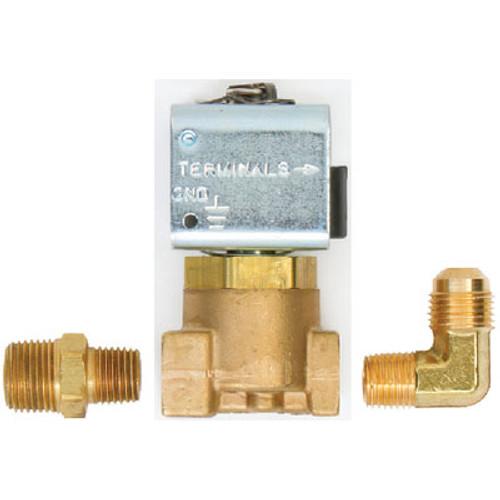 Trident Hose 1/4 B Solenoid + Fitting 12Vdc 130077082Kit